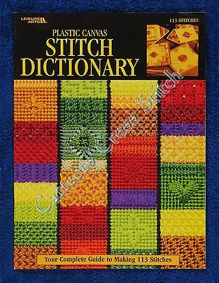 Plastic Canvas Stitch Dictionary Learn 113 Stitches Needlepoint Coasters Sampler
