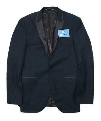 Next Mens Blue Single Breasted Suit 36 Chest (Regular)