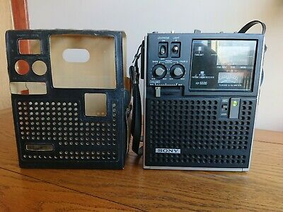 Sony ICF-5500 Captain FM/MW/SW Vintage Band Shortwave Receiver Radio **NR. MINT*