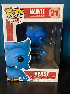 Funko Pop Marvel Universe Beast 21 Brand New And unopened