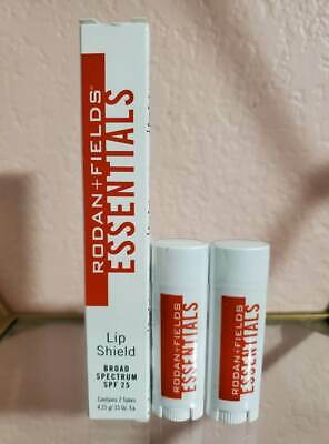 Rodan + Fields Essentials Lip Shield SPF 25 Contains 2 Tubes 4.25 g ea EXP 11/19