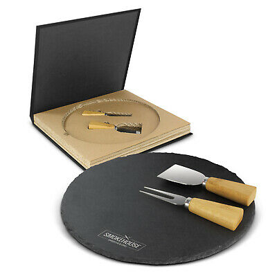 10 x Ashford Slate Cheese Board Set  Gifts Promotion Business Merchandise