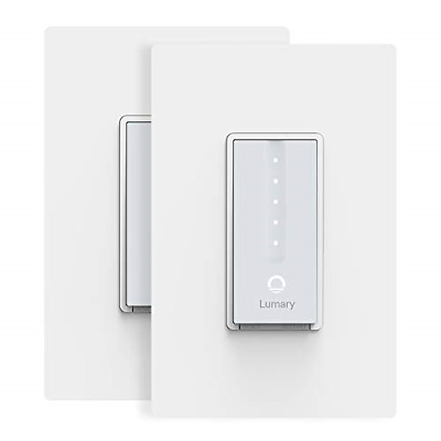 Smart Dimmer Switch, Lumary Wi-Fi Electrical In-Wall Decor Light Switch for LED,
