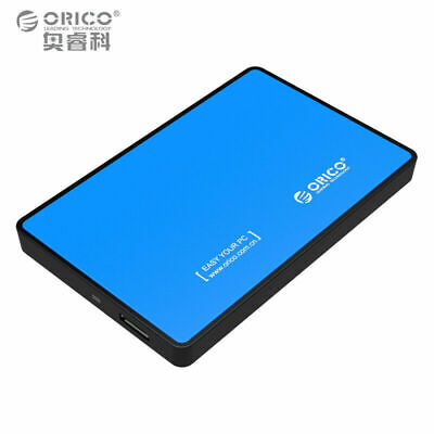 High Speed USB 3.0 External Hard Disk Case Box for 2.5 inch SATA HDD / SSD 9.5mm
