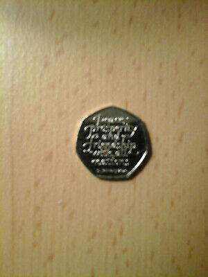 Brand New Uncirculated 2020 Brexit 50p Coin From Sealed Bag - In Hand