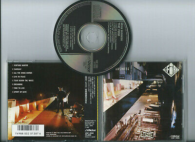 THE FIRM -  MEAN BUSINESS (without OBI) JAPAN FIRST PRESS ORIGINAL CD