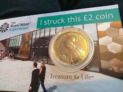 2020 Strike Your Own Britannia £2 Pound Coin ROYAL MINT Uncirculated Tracked P&P