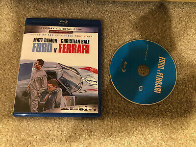Ford V Ferrari ( Blu-ray + Case w/ Artwork )