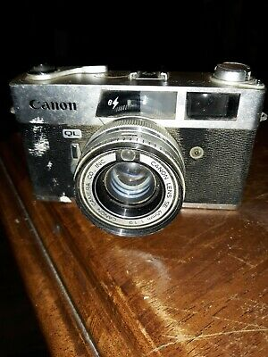 Canon Canonet QL19 35mm Rangefinder Film Camera Body Only