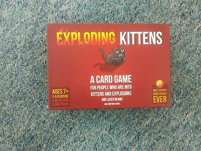 Exploding Kittens Card Game About Kittens and Explosions Sometimes Goats