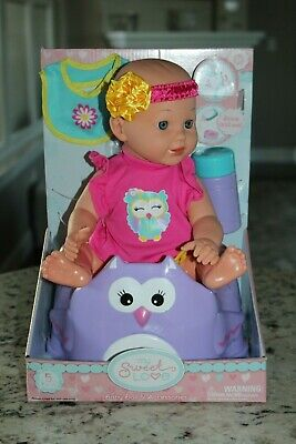 New My Sweet Love Baby Doll Accessories Bottle Potty Training Seat Drink & Wet