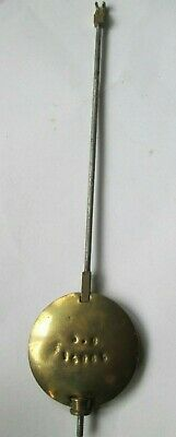 Clock Pendulum Brass Mantel Clock Replacement pendulum Adjustable Bob