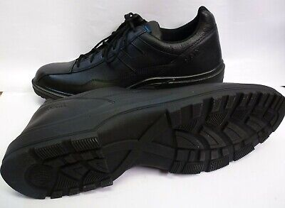 HAIX Airpower C7 US Black Leather Police service & leisure Shoes Size 12.5 w NEW