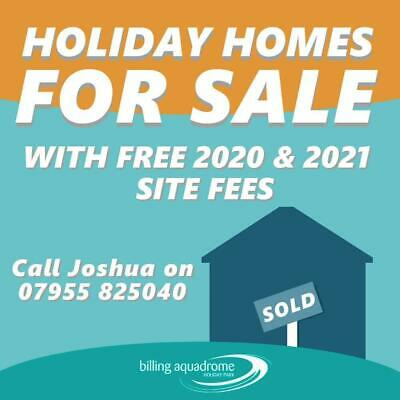Luxury Holiday Home For Sale With Free 2020 & 2021 Site Fees Call 07955825040