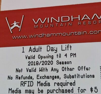 Any day Windham Mountain lift tickets NO restrictions on these passes