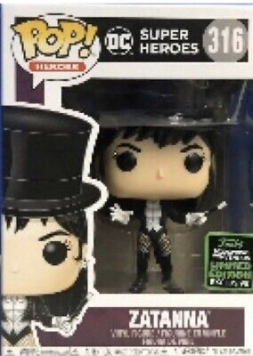PREORDER Funko Pop DC Comics ECCC Shared Exclusive ZATANNA #316