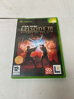 Star Wars Episode Iii Revenge Of The Sith Xbox Game Free Post 3 00 Picclick Uk