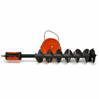 K-Drill 8 Inch Ice Drill Auger System Anti Chatter Design IDRL08