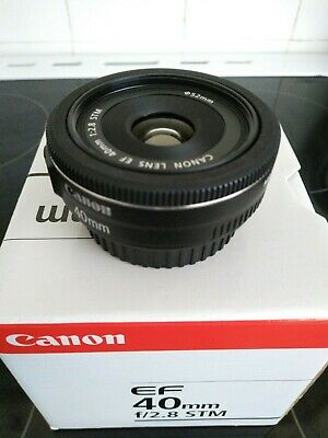 Canon EF f2.8 40mm stm Excellent condition
