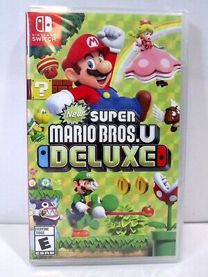 New Nintendo Switch Super Mario Bros. U Deluxe Video Game Factory Sealed #1