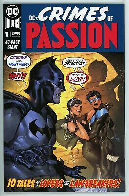 DCs Crime of Passion  #1  * First Print *  80 Page Giant      NM