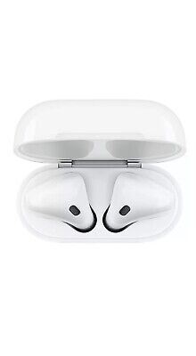 Genuine Apple Airpods 2nd Generation MV7N2AM/A w/ Wired Charging Case+FREE GIFT