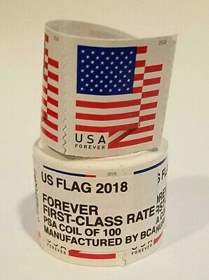 US Flag 2018 USPS 1000 Forever Stamps - 1000 Pieces