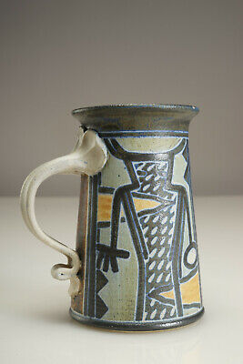 Jim Stewart Studio Pottery Mug MCM Design - Salt Lake City Utah USA