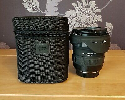 Sigma Ex 10-20Mm Dc Hsm F4-5.6 Lens For Olympus Four Thirds 4/3 And Case Vgc