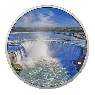 2018 Canada Fireworks at the Falls - 2 OZ $30 Glow-In-The-Dark Pure Silver Coin
