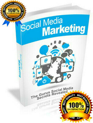 SOCIAL MEDIA ONLINE MARKETING  EBOOK PDF WITH RESELL RIGHTS DELIVERY 12hrs
