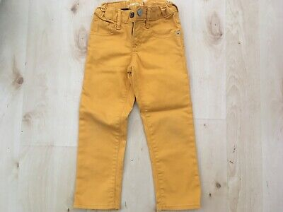 Boys Gap slim fit mustard jeans age 4
