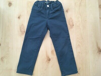 Boys Gap slim fit teal jeans age 4
