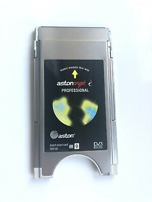 🔹ASTON🔹Official AstonCrypt Professional 12 Channel Satellite TV 🔹CAM Module🔹