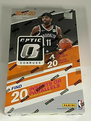 2019-20 Donruss Optic Basketball Factory Sealed 20 Pack Retail Box