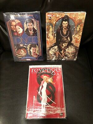 NEW! Once Upon a Time + Revenge Emily Thorne HC Hardcover Shadow of the Queen