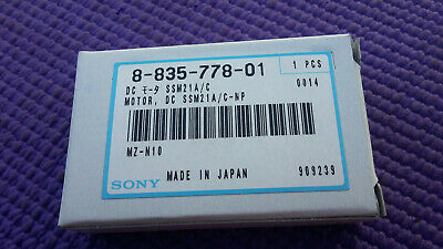 8-835-778-01 Genuine Sony Motor, Dc Ssm21a/c-np for MZ-N10