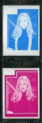 1977 Topps Charlies Angels Color Separation Proof Cards. #209