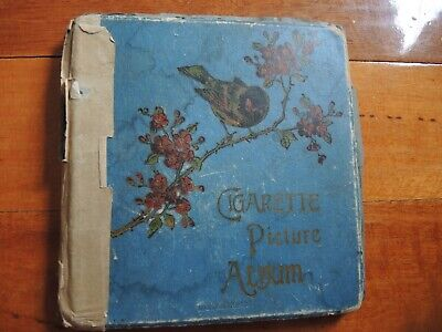 Cigarette Picture Album with 60 cards weeties wills players stamina trousers
