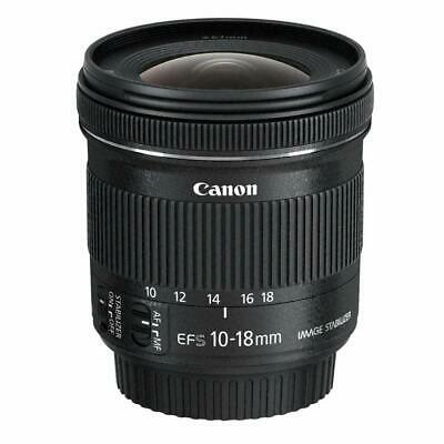 Canon EF-S 10-18 mm F/4.5-5.6 IS STM Ultra Weitwinkel Zoom Objektiv