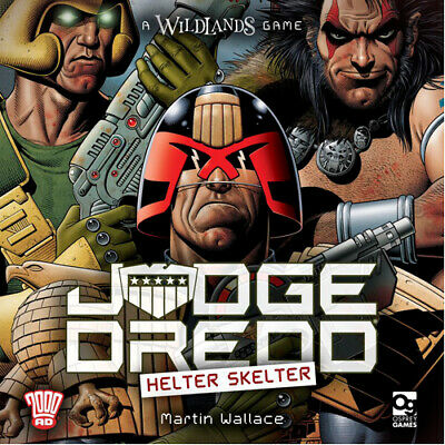 Judge Dredd: Helter Skelter Board Game by Martin Wallace | Brand New