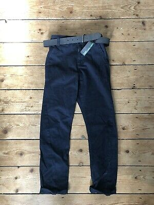 Bnwt Next Navy Chinos Trousers Age 9