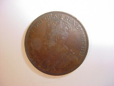 1913 One Large Cent Canadian ~ George V Penny ~ Nice Coin