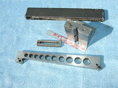 Angle Plate (1) W/Clamp, 10Inch Sine Bar Toolmaker Machinist Made Mill Grind