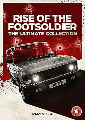 Ultimate Collection DVD Rise of the Footsoldier Parts 1-4 Format Dolby PAL New
