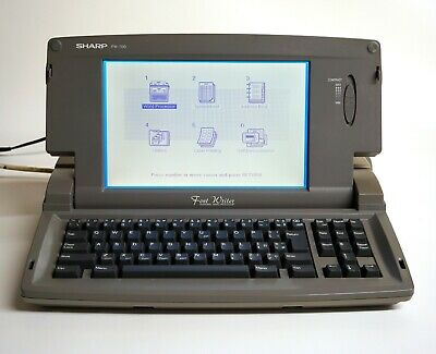 Vintage Sharp Electronic Word Processor FW700 - Floppy Disk Drive and Printer