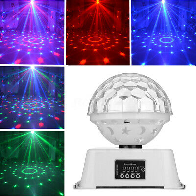 6 LED RGB Stage Effect PAR Disco DJ Laser Light Magic Ball Party Lamp KTV Club