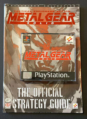 Metal Gear Solid - Playstation 1 (PS1) - Boxed Complete + Offical Guide