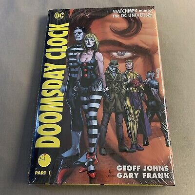Doomsday Clock Part 1 - Graphic Novel - DC / Watchmen - Hardcover - Sealed