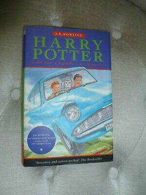 Harry Potter and the chamber of Secrets 10th Print (Hardback)
